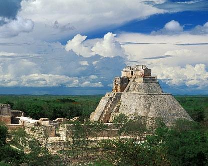 Vacation Mayan Ruins