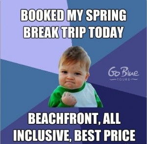 Spring Break Success - Go Blue Tours