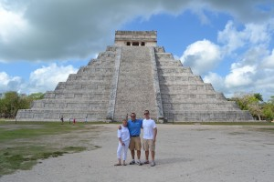 Go Blue Tours at the Chichen Itza Ruins