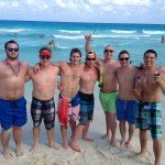 Oasis Cancun Spring Break beach group