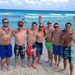 Oasis Cancun Spring Break beach group