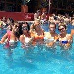 Oasis Cancun Spring Break pool group
