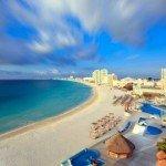 krystal cancun spring break beach view