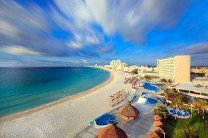 cancun spring break 2016 beach view