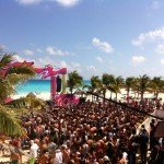 Oasis Cancun Spring Break party