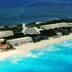 Oasis Cancun Spring Break sky view