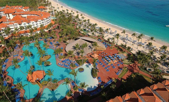 Drone pic of the occidental caribe