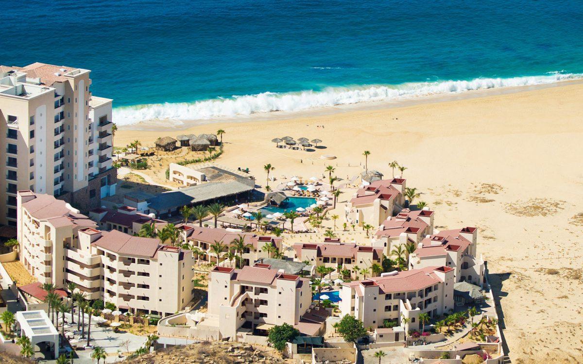 Solmar hotel drone pic