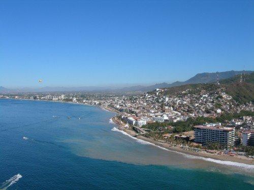 beach sky view