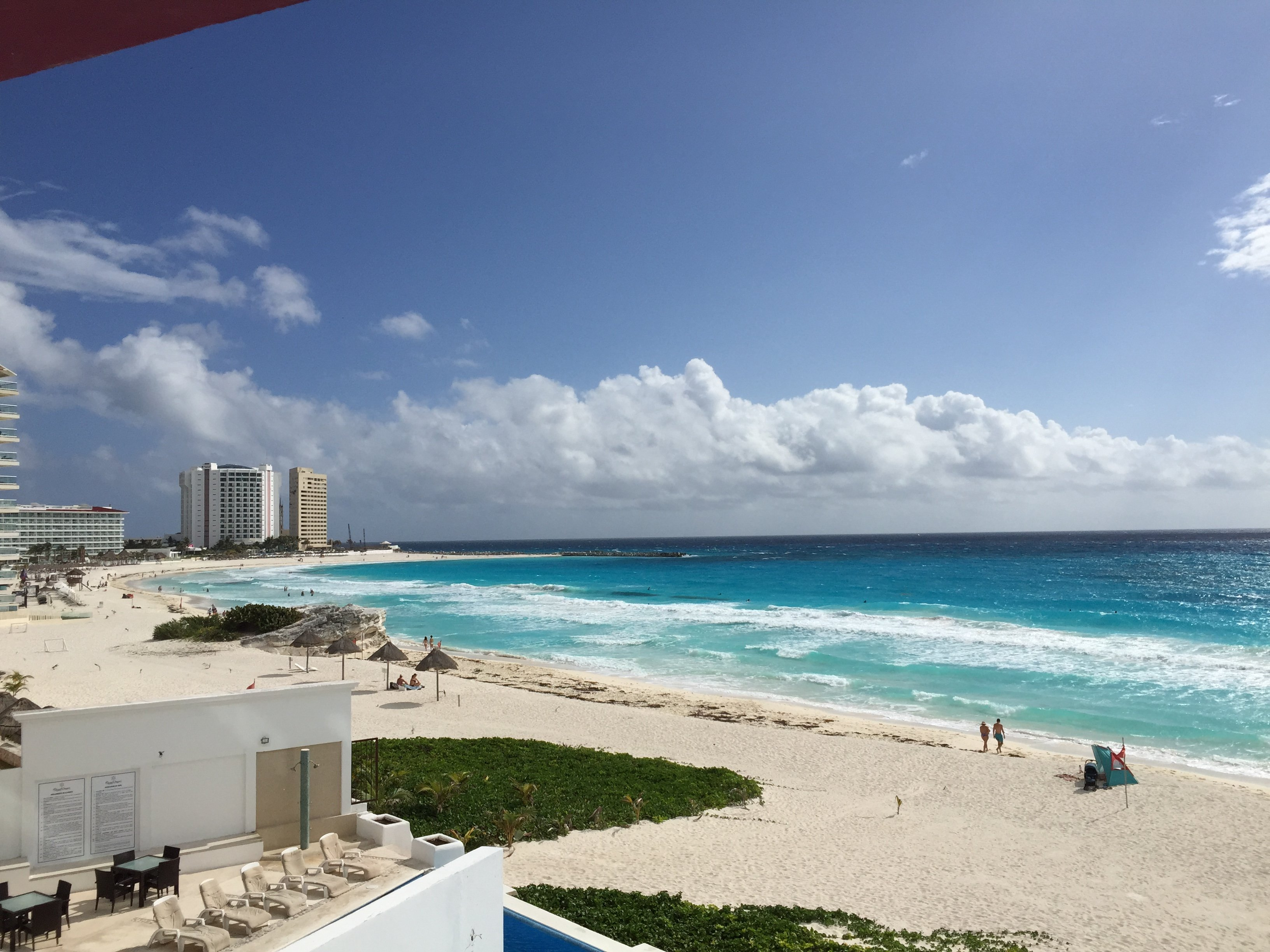 Cancun Beach Ocean View 2015