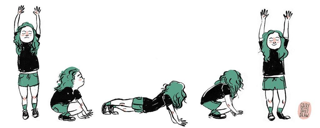 best exercises - burpee