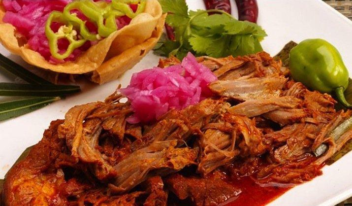 Cochinita Pibil - mexican food