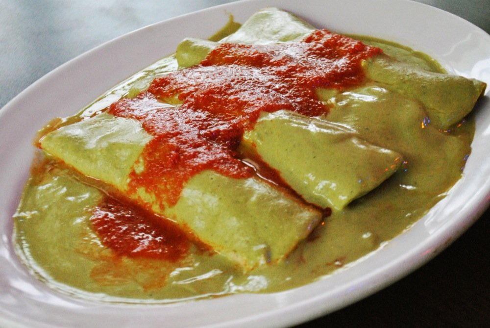 Papadzules - mexican food