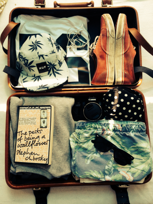 packing tips - suitcase
