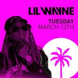 party schedule - Lil Wayne