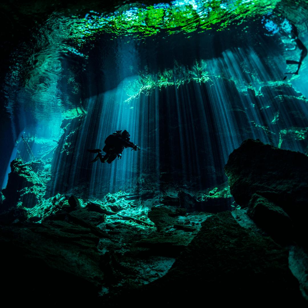 Underwater museum of Cancun