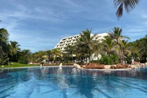 hotel poolside