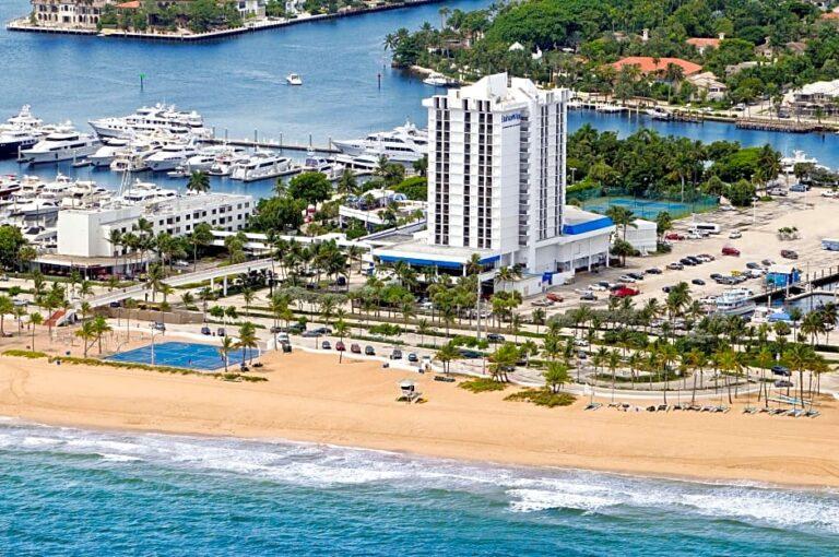Bahia Mar aerial view