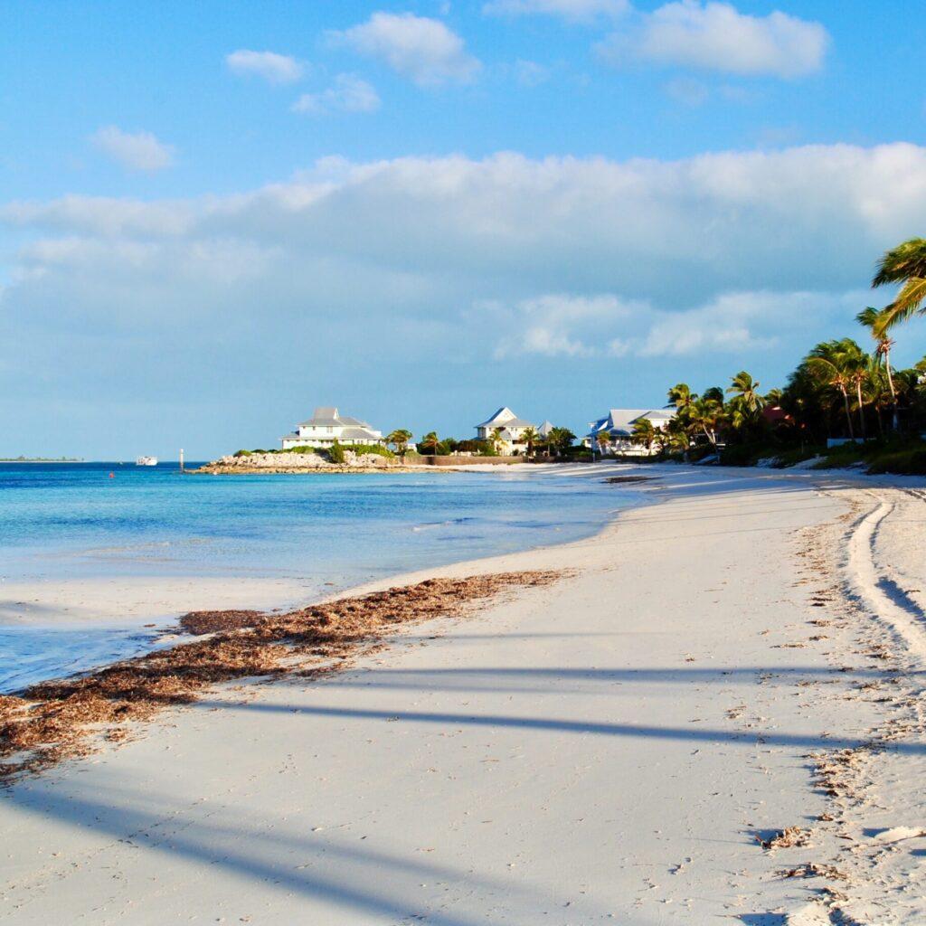Beach at the Bahamas