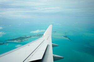 window view airplane