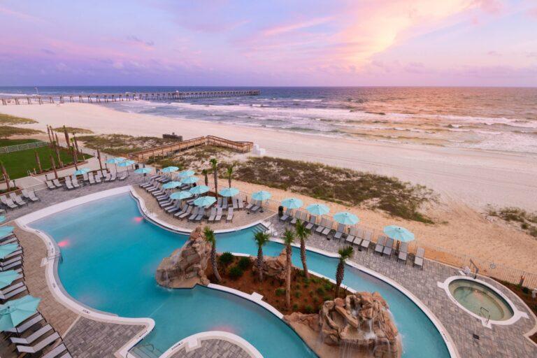 SPRINGHILL PANAMA CITY BEACH Pool Sunset